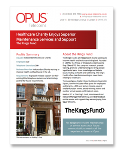 Kings Fund Case Study
