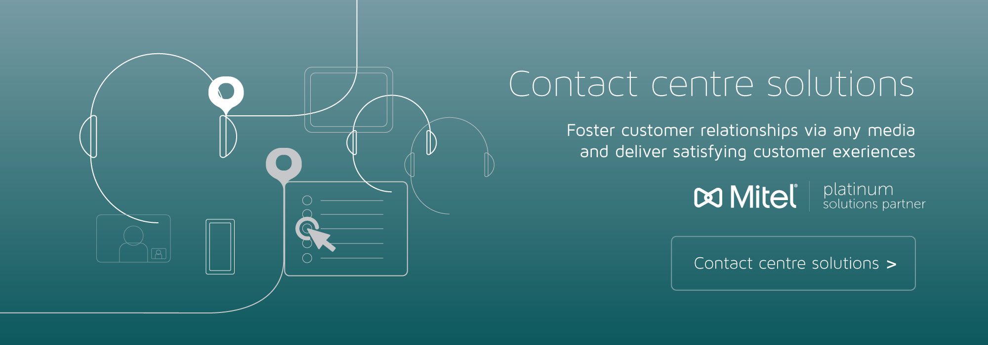 Mitel Platinum Partner Contact Centre
