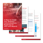 Business Communications Roadmap for 2021