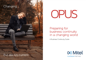 Business continuity in a changing world