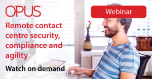 Remote Contact Centre Security